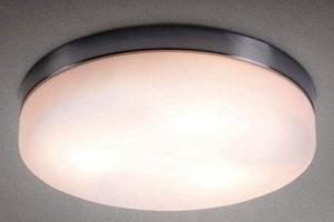 потолочные светильники для ванной комнаты фото 40