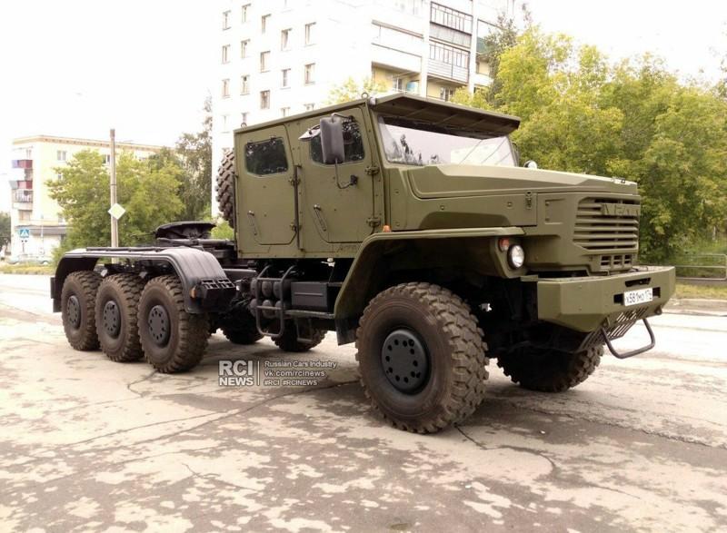 Секретный армейский танковоз