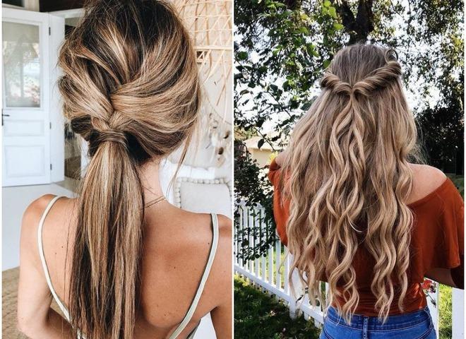 Прически на лето 2018: ТОП-15 стильных идей для длинных волос