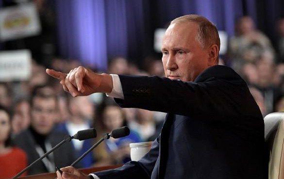 «Вы вообще нормальные люди?»: 10 ярких цитат из пресс-конференции Путина