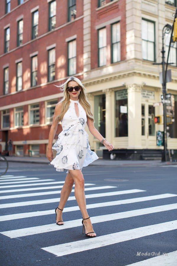 20 модных платьев с оборками