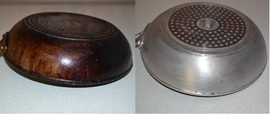 Как очистить старую сковороду — метод, проверенный годами