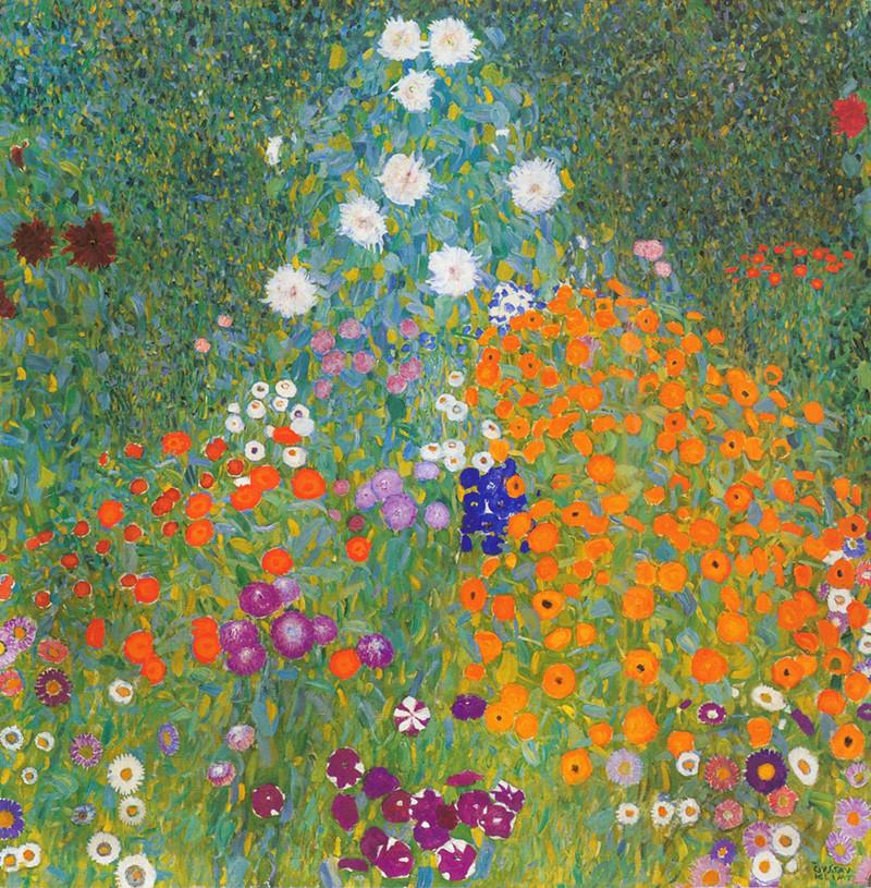Цветочные ковры полей, орнаментальные мозаики садов и рощ ...особенные пейзажи Густава Климта