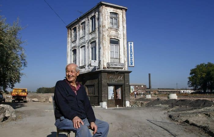 Although His Is The Only Standing Building In What Used To Be An Old Neighborhood Of Roubaix, In Northern France, Salah Oudjani Refuses To Sell The Coffee House He Has Worked In For The Last 46 Years