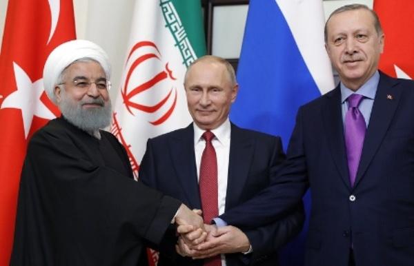 Ушаков: Саммит России, Ирана иТурции поСирии обсуждается