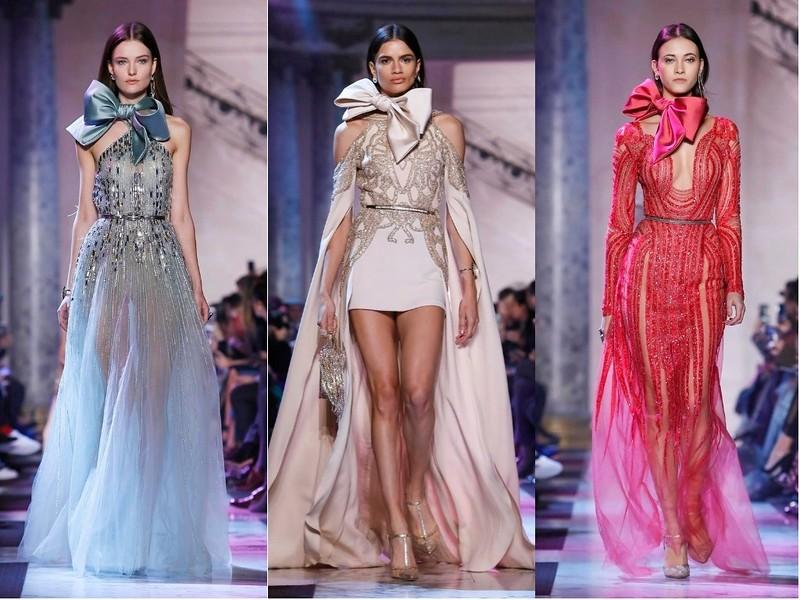 Elie Saab Haute Couture весна-лето 2018