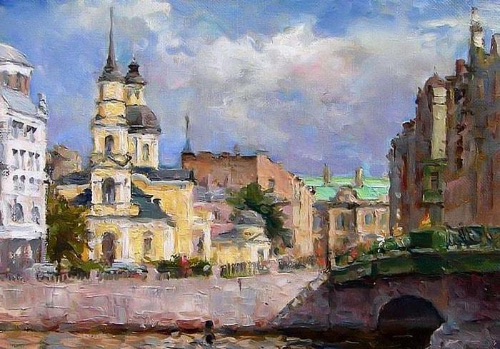 художник Азат Галимов картины – 01