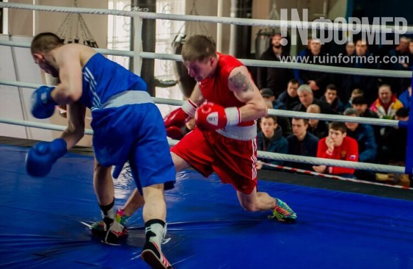 Матчевая встреча по боксу в …