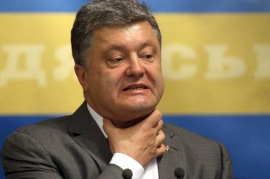 Разъяренный Порошенко выбил телефон из рук снимавшего его украинца
