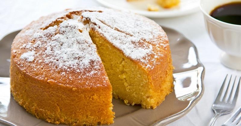 Нежный апельсиновый пирог бе…