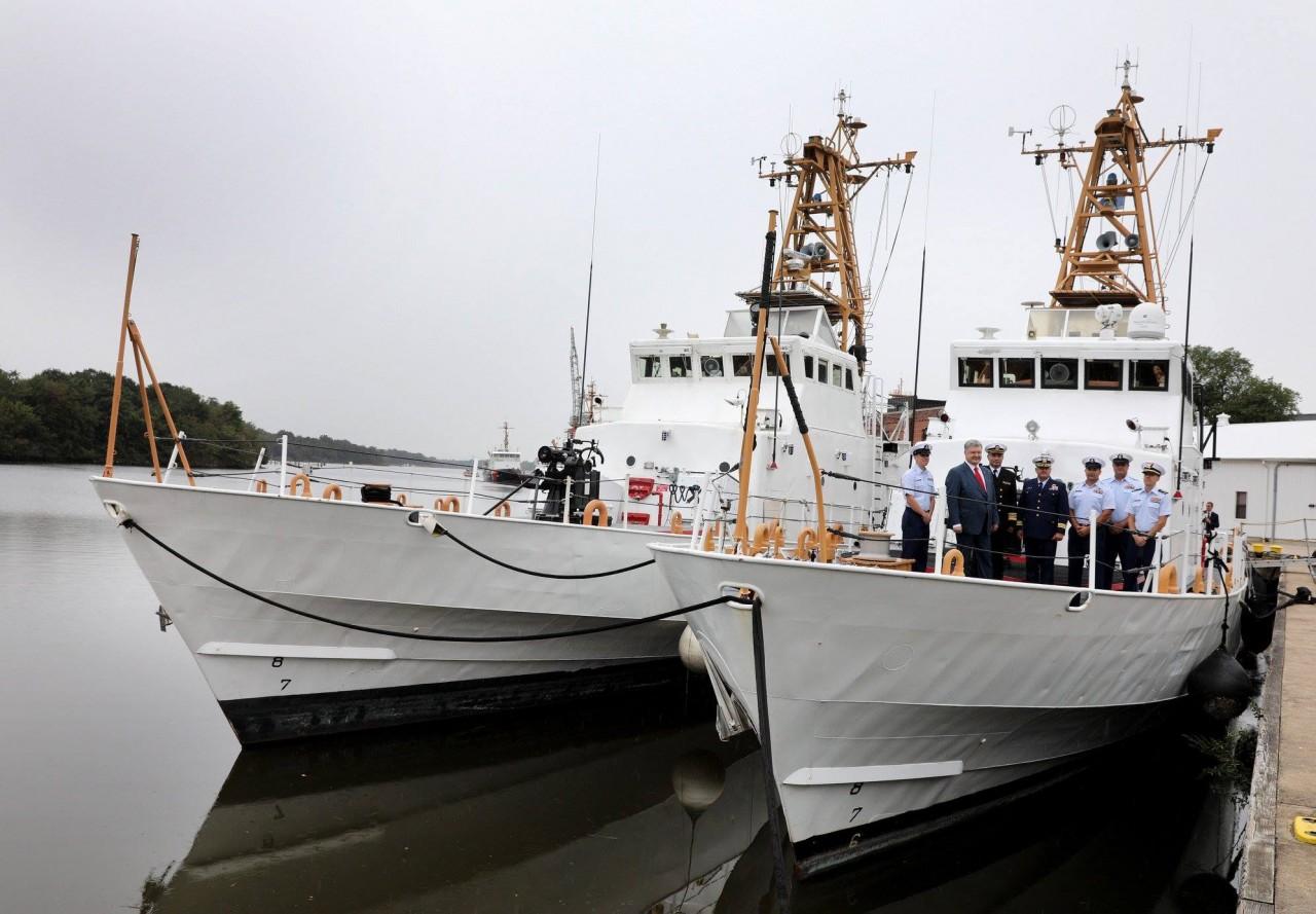 США передали Украине два списанных сторожевых катера типа Island