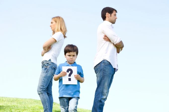 Дети и развод: когда начинать беспокоиться?
