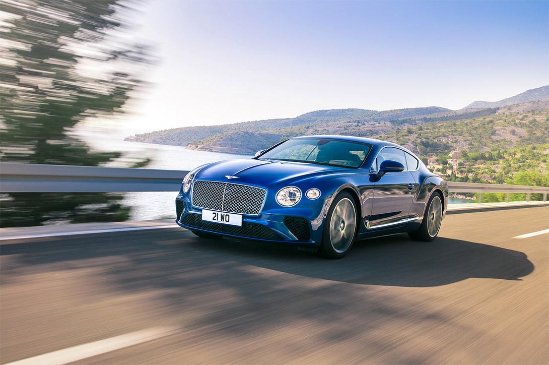 Bentley Continental GT 2019: эликсир молодости