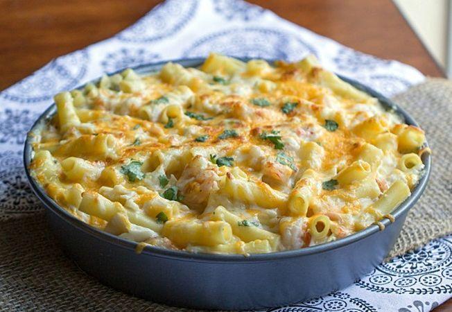 Быстрый и вкусный ужин: макароны с сыром. Детки точно попросят добавки