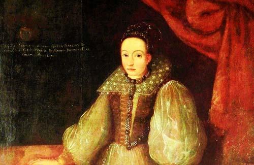 Елизавета Батори. Неизвестный художник.