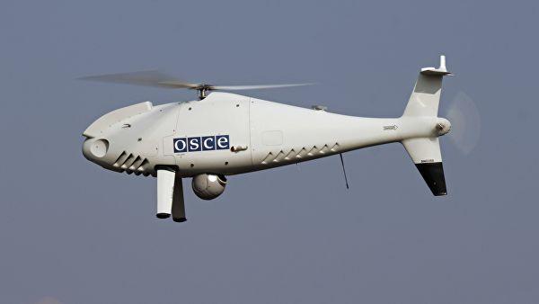 Укропы объявили охоту на беспилотники ОБСЕ.