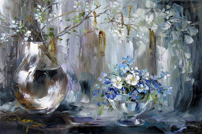 Мечты, цветы, коты Оксаны Кравченко