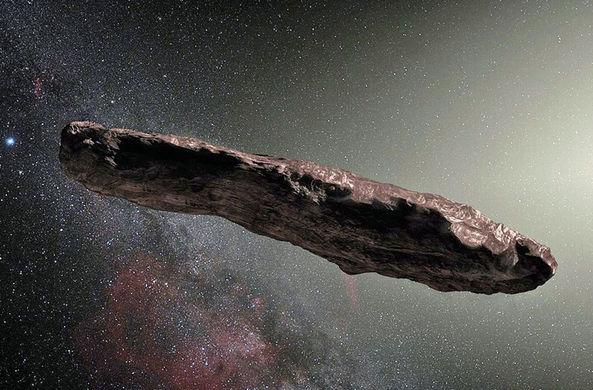 Хаотичный «огурец»: опубликованы подробности о госте из другой галактики