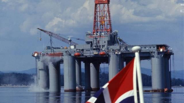 Добыча нефти в Норвегии неож…