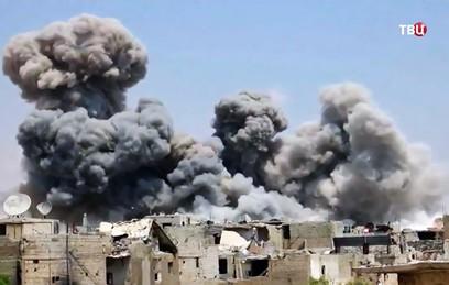 Не менее 62 мирных жителей погибли из-за ударов коалиции США в Сирии
