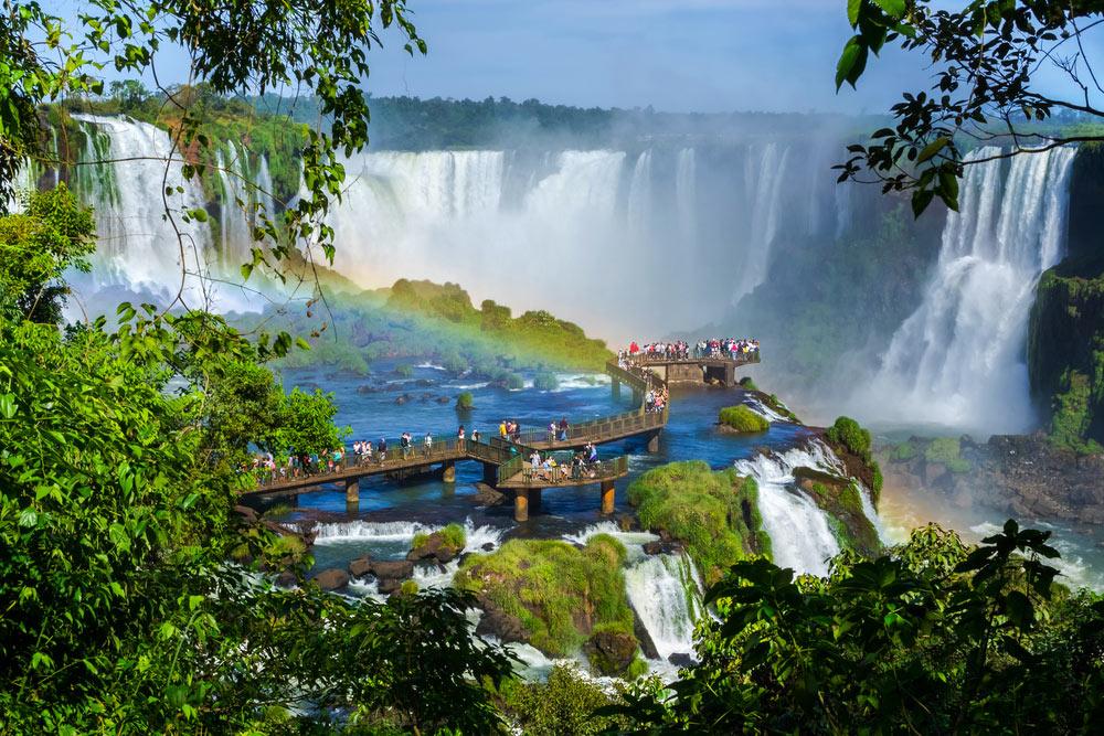 Водопад Игуасу, Аргентина/Бразилия