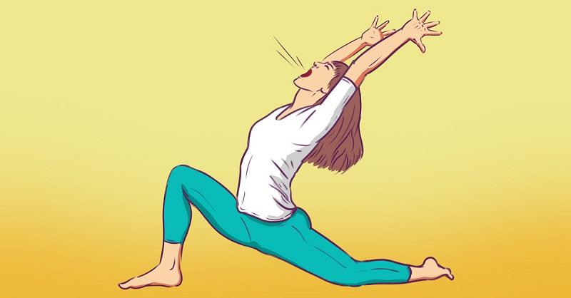 a yoga practice