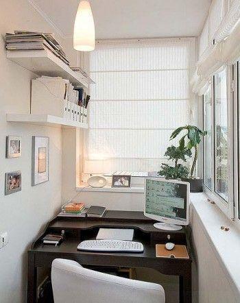 Идеи оформления балкона/лоджии