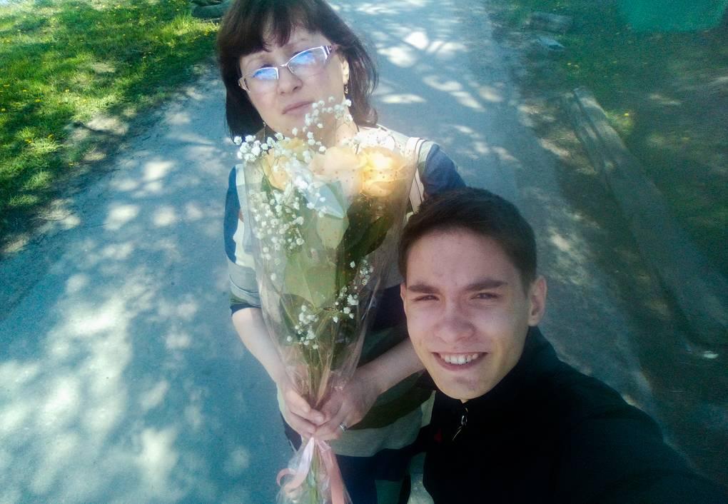 Оксана с сыном Димой Личный архив Оксаны