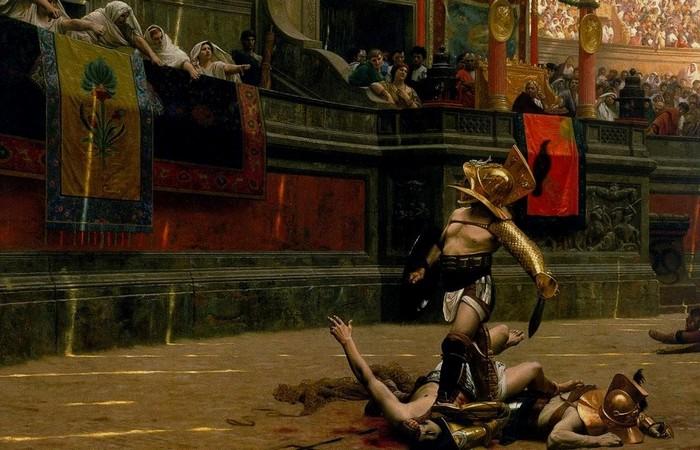Добровольцы сражались в Колизее для развлечения римлян.