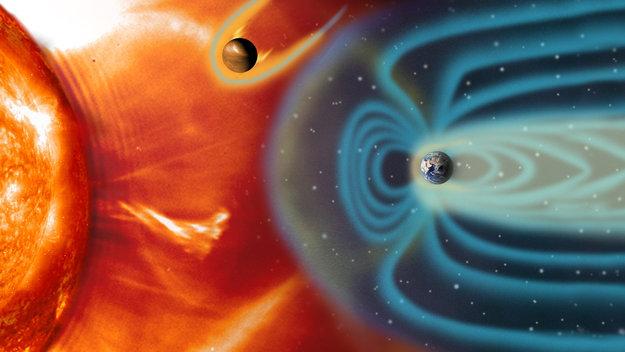 Сильнейшие магнитные бури пройдут в начале ноября