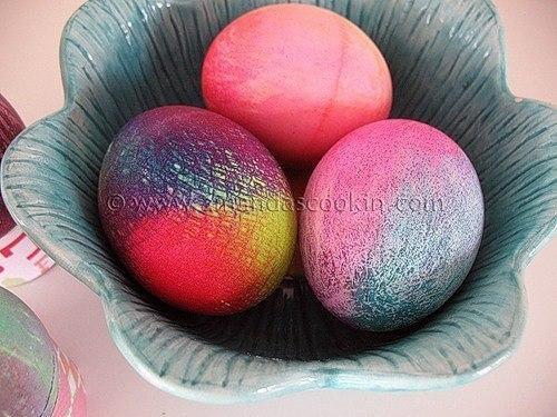 Идеи для окрашивания пасхальных яиц