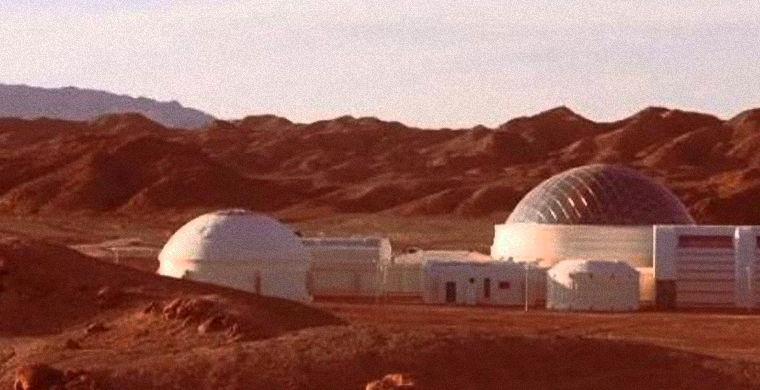 Китай показал свою марсианскую станцию