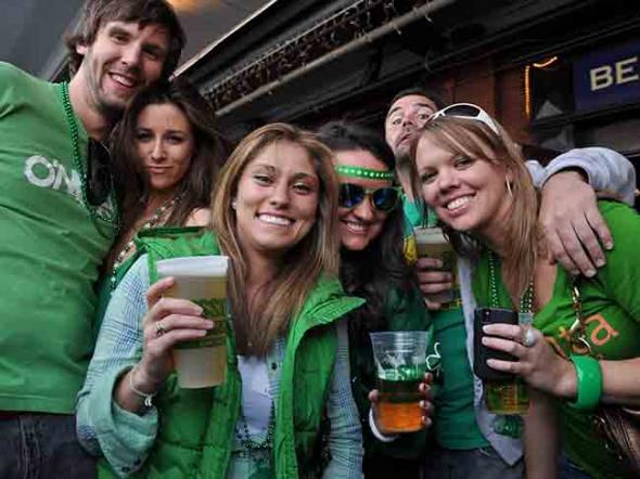 Как моя сестра с ирландцами в бар ходила