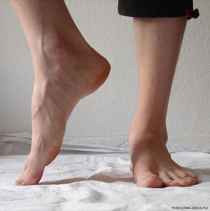ХИЖИНА ЗДОРОВЬЯ. Упражнения при плоскостопии