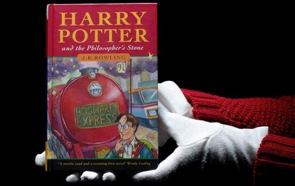 Первое издание «Гарри Поттер и философский камень» ушло с аукциона за 142.500$