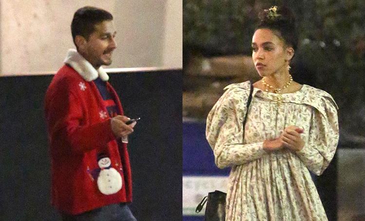 Шайа ЛаБеф и FKA Twigs провели первое совместное Рождество