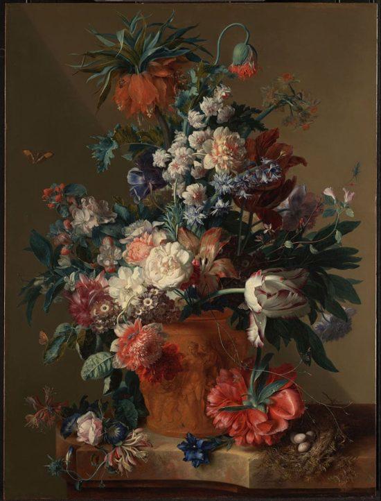 художник Ян ван Хёйсум (Jan Van Huysum) картины - 10