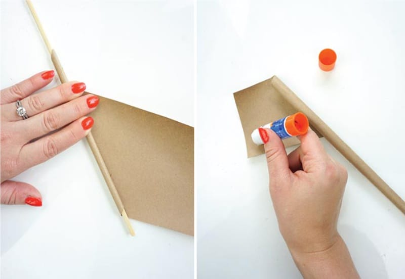 Идея для модного декора, сплетенная из переработанной бумаги