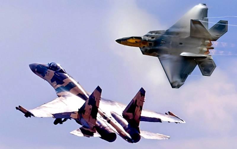 Русский Су-35 против америка…