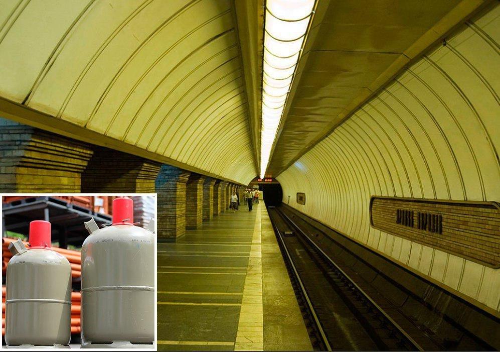 В метро Киева из-за распыления неизвестного вещества едва не отравились 10 человек