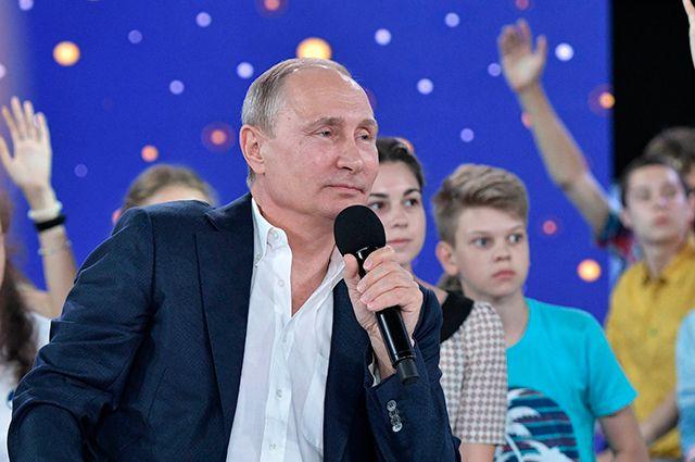 Диалог «по кайфу». Достиг ли Путин взаимопонимания со школьниками России