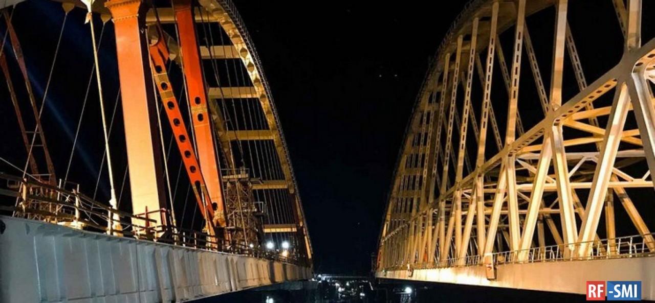 Последние новости со строительства Крымского моста.