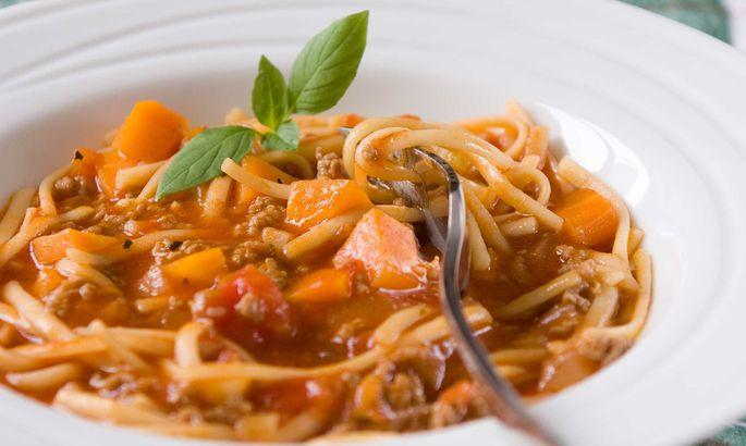 Спагетти с лимоном по рецепту Софи Лорен