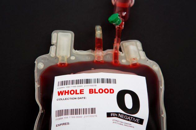 10 странных и интересных фактов о переливаниях крови