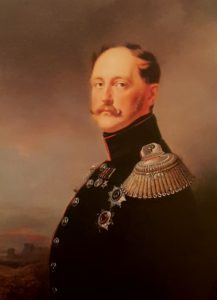 Николай I в Риме в 1845 году. Колония русских художников и скульпторов