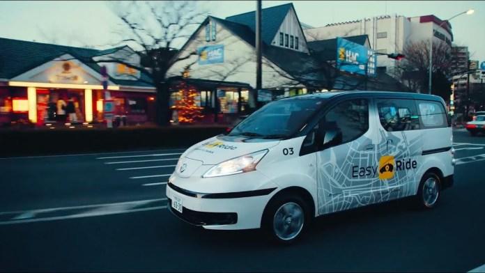 Nissan Leaf превратили в беспилотные такси