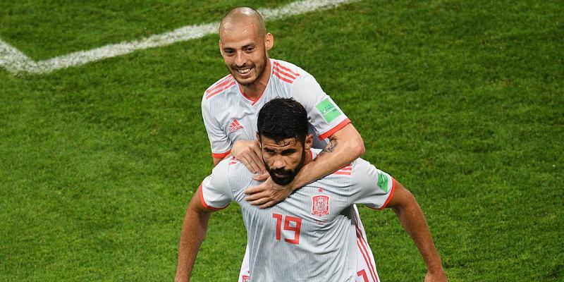 Сборная Испании с трудом переиграла Иран, Коста догнал Черышева