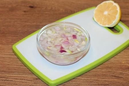 "Салат с беконом  и овощами "" елочка"": фото шаг 4"