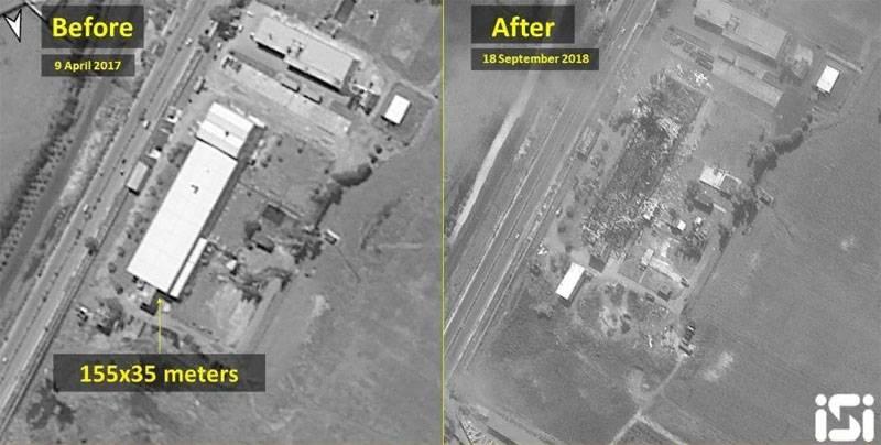 Что бомбили F-16 в Латакии? Израильский оператор опубликовал спутниковые снимки