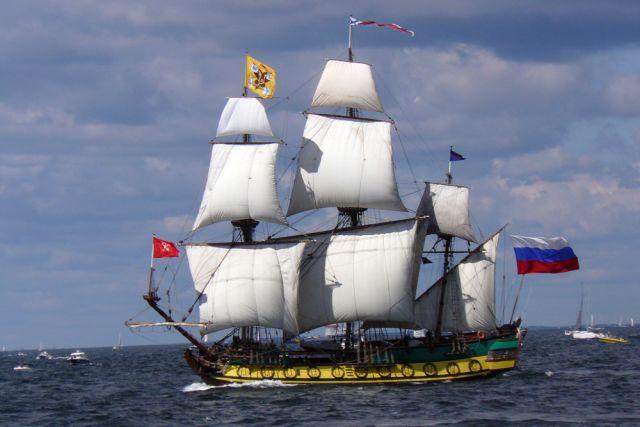 С российского парусника сняли обвинения в нарушении границы Финляндии
